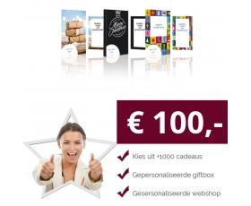 Eigen Keuze Kerstpakket 100 euro € 100.00