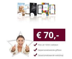 Eigen Keuze Kerstpakket 70 euro € 70.00